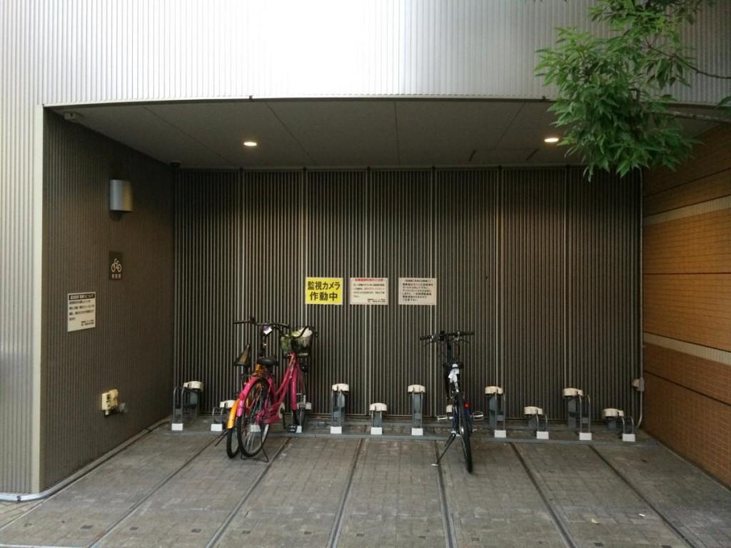 飯田橋駅プラーノ駐輪場