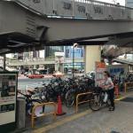 渋谷駅西口の自転車駐車場