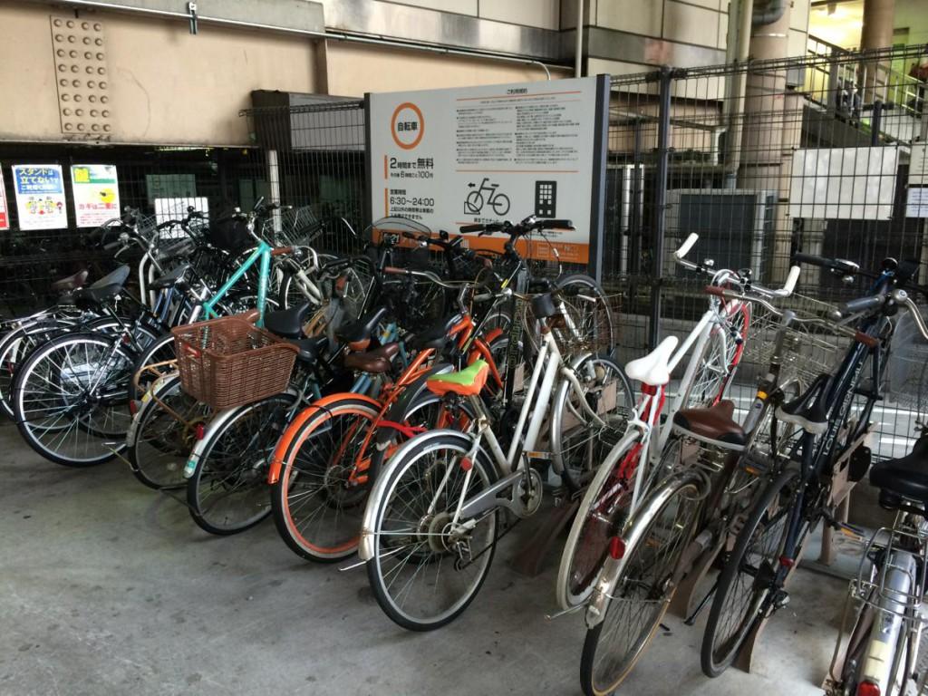 上野駅浅草口の駐輪場「アトレ上野第2」