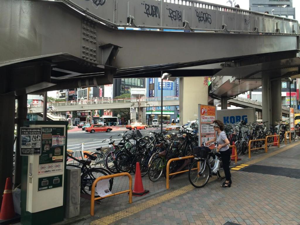 渋谷駅西口自転車駐車場