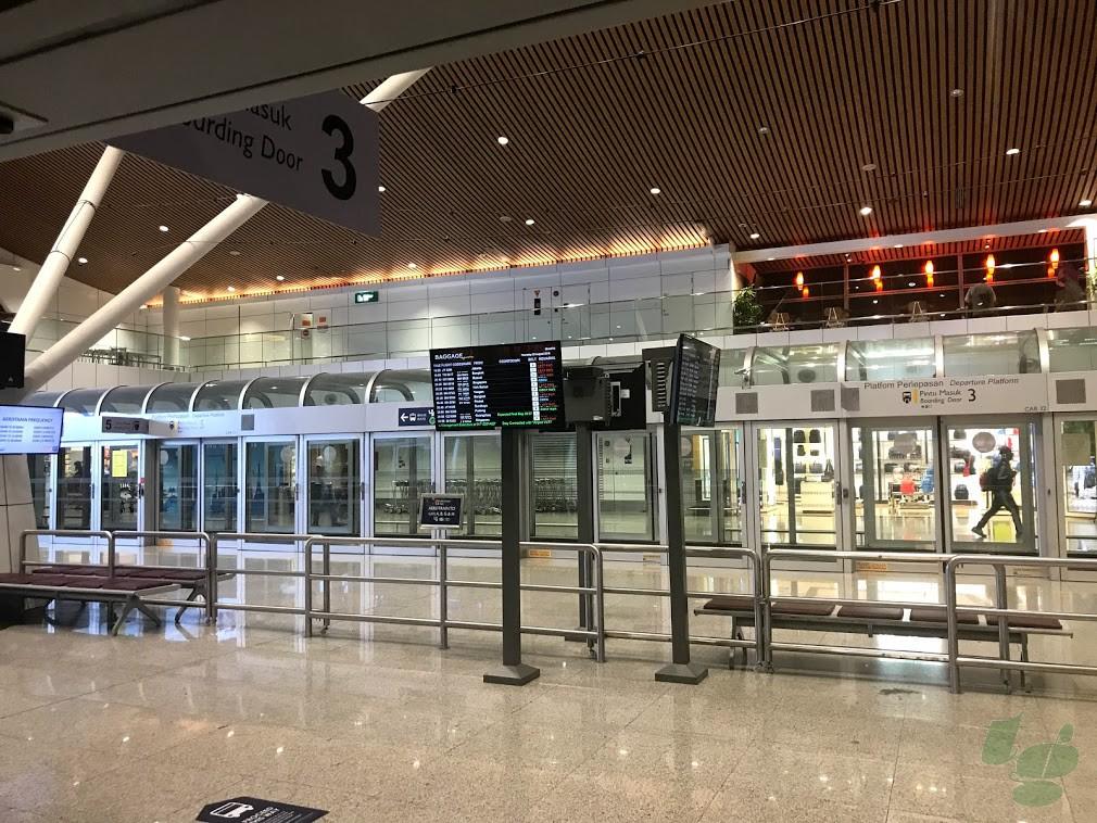 クアラルンプール空港 国際線サテライトターミナル