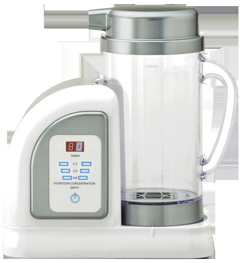 純日本製の水素水生成器!新製品「ルルド ハイドロフィクス」