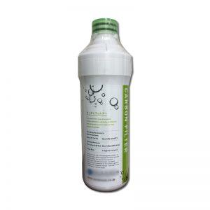 ガウラミニのカーボンフィルター。水道水の塩素やカビ臭を取り除く。1年に1回交換するのが理想。